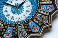 ساعت دیواری میناکاری اصفهان