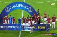 فیلم مراسم اهدای مدال و جام قهرمانی تیم کاشیما  در ورزشگاه آزادی