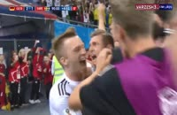 سوپر گل تونی کروس به سوئد و پیروزی آلمان در وقت اضافه