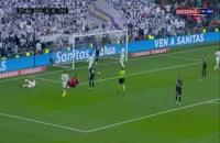 خلاصه بازی فوتبال رئال مادرید 2- سویا 0