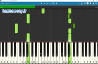 نت پیانو خزان عشق از جواد بدیع زاده