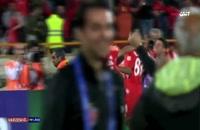 صحنه گل سیامک انصاری (تیم پرسپولیس) به السد قطر و صعود به فینال آسیا