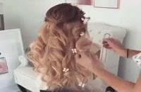 مدل مو بسیار زیبا  | شنیون
