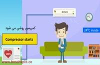 خرید کولر گازی بوش اینورتر در نمایندگی کولر گازی بوش با گارانتی آنلاین سرویس 24