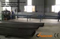 Electro forged steel grating welding machine paya sanat