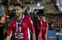 ویدیویی از مراسم اهدای مدال نقره لیگ قهرمانان آسیا به تیم پرسپولیس