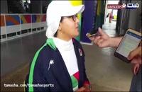 حذف زهرا نعمتی از مسابقات جاکارتا با اشتباه مسئولان تیم
