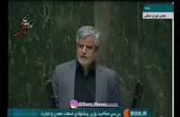 زمان انتخابات هزار وعده دادید و بعد زیر آنها زدید (محمود صادقی)
