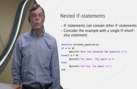 Lesson 5.4: Nested If-statements