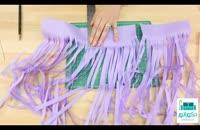 آموزش ساخت ریسه با منگوله و ایجاد یک دکوراسیون زیبا