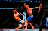 نابود کردن ترکیبی در بازی UFC 2