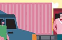 سامانه هوشمند درخواست ماشین سنگین برای حمل بار