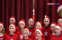 جشن کریسمس بازیکنان بایرن مونیخ با هواداران خردسال خود