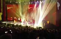 رقص آذری لزگی گروه آیلان به سرپرستی توحید حاجی بابایی در کنسرت برج میلاد گروه رستاک
