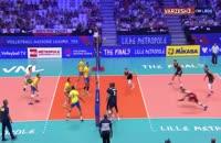 فیلم خلاصه والیبال آمریکا 3 - برزیل 0 (ردهبندی)