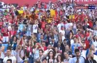 اهدای مدال برنز به تیم ملی بلژیک در جام جهانی 2018