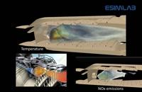 شبیه سازی محفظه احتراق توربین گازی با Siemens Star-ccm+ و Numeca, Ansys Fluent