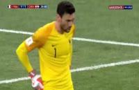 فیلم گل اول کرواسی به فرانسه - فینال جام جهانی 2018