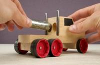 آموزش ساخت کامیون های چوبی!!!!