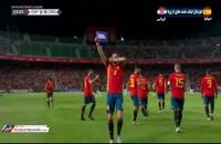 خلاصه بازی اسپانیا ۶ - ۰ کرواسی