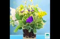 ساخت گلدان در خانه