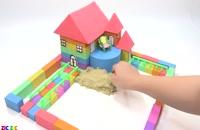 آموزش ساخت خانه باغ با خمیربازی و ...