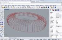 مدل سازی پارامتریک استادیوم با Rhino