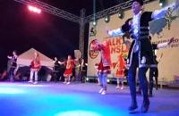رقص آذربایجانی کودکان آیلان در روز نخست جشنواره ترکیه