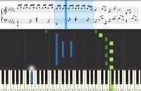نت پیانو دلیار از سارا نائینی