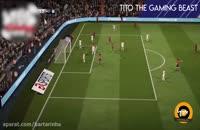 باگ های عجیب و خنده دار بازی فیفا 2018 , www.ipvo.ir