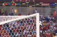 صحنه شادی گل خنده دار باتشوایی بعد از گل بلژیک در جام جهانی 2018