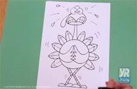011349 - طراحی و نقاشی سری هفدهم (نقاشی کودکان)
