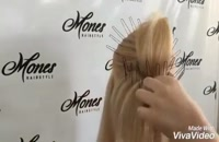 شینیون و آموزش تخصصی شینیونmones_hairstyle  - آموزش بافت مو