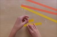 056019 - اوریگامی سری اول: ستاره کاغذی