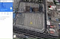 تصاویر ماهوارهای از انبار خودروسازان در تهران