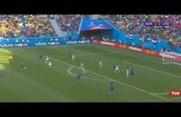 اور نیم اوت بازی برزیل کاستاریکا- دقاق 31 الی 45