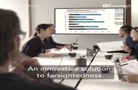 ویدئویی از عینک هوشمندی