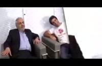 پشت صحنه بازی مهران مدیری در فیلم رحمان 1400