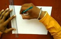 آموزش نقاشی پلکان سه بعدی