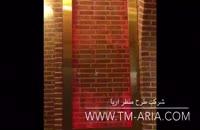 اجرا و طراحی آبمای شیشه ای، حباب نما، دیوار شیشه ای مدرن در رستوران بابا قدرت