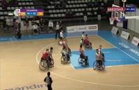 خلاصه مسابقه بسکتبال ایران و چین با برد ایران ( پارا آسیایی 2018)