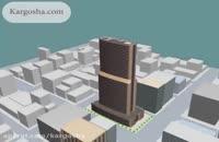انیمیشن سیستم تهویه مطبوع یک هتل