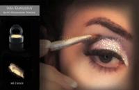آرایش عروس, آموزش آرایش چشم  - مدل آرایش مو