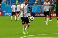 پیش بازی فرانسه آرژانتین