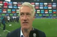 مصاحبه دشان و اومتیتی پس از غلبه بر تیم ملی بلژیک