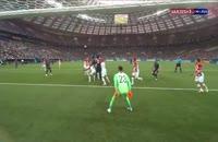 فیلم گل اول فرانسه به کرواسی - فینال جام جهانی 2018