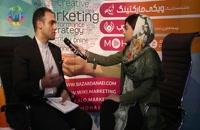 گفتگوی گروه فیلم برداری از سمینار باشگاه موفقان با محمد مهاجر، مدیر انجمن آینده نگری ایران