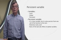 Lesson 5.7: Persistent Variables