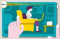 طرز صحیح نشستن هنگام کار