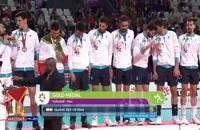 مراسم اهدای مدال طلا به تیم ملی والیبال ایران در مسابقات آسیایی جاکارتا 2018